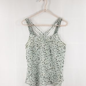 Anthropologie Girls from Savoy Silk Strappy Blouse